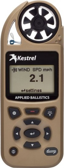 Метеостанция ветромер Kestrel 5700 Elite Applied Ballistics & Bluetooth